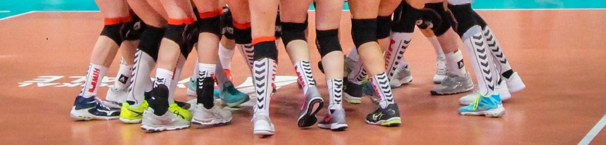 Volleyball Socken und Kniestrümpfe