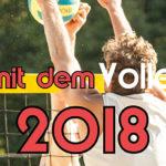 Beachen mit dem VolleyballFREAK 2018