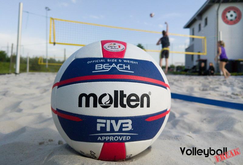 Testbericht zum Molten Beachvolleyball V5B5000-DE