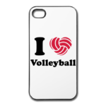 Die I Love Volleyball Handyhülle