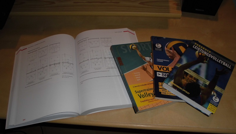 Volleyballbücher / Literatur