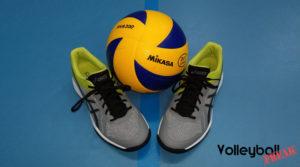 Der Volleyballschuh Asics Gel Tactic im Test.