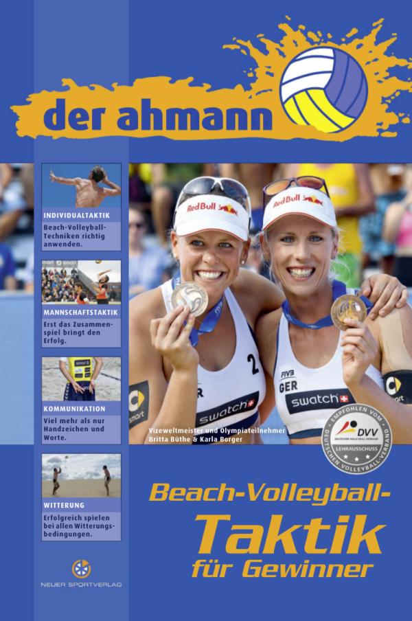 Die Abbildung zeigt das Cover vom Beachvolleyball Taktiken für Gewinner von Jörg Ahmann