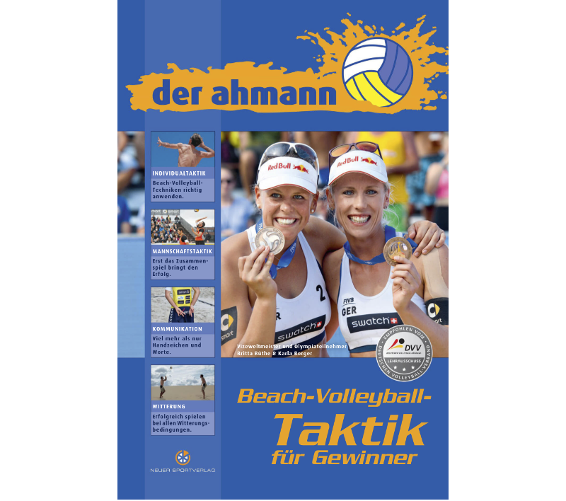 "VolleyballFREAK Rezension zu ""der ahmann Beach-Volleyball-Taktik für Gewinner"""