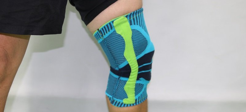 Bauerfeind Kniebandage Sports Knee Support im VolleyballFREAK-Test