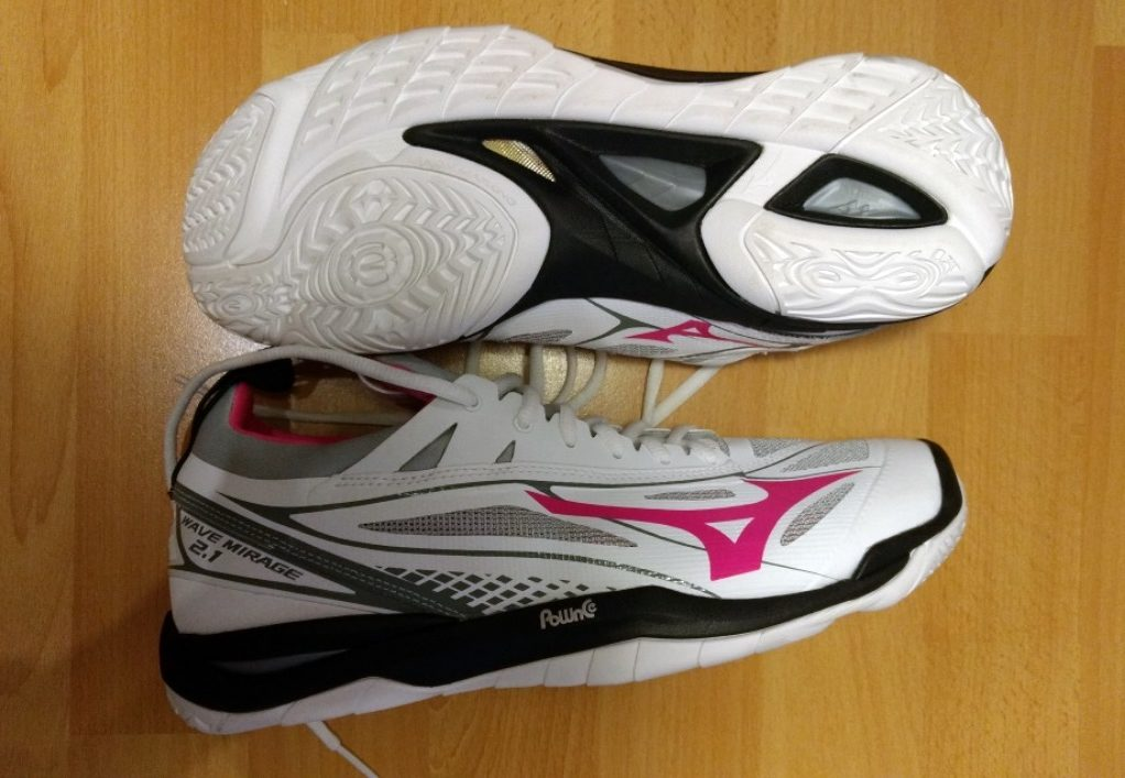Volleyballschuhtest: Mizuno Wave Mirage 2.1. Volleyballfreak