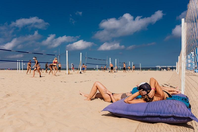 Das Herbstbeachvolleyballcamp von Beachzeit in Gandia/Spanien