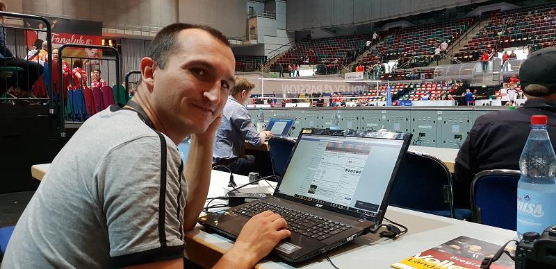 Der Versuch eines Interviews mit der Volleyball Bundesliga…