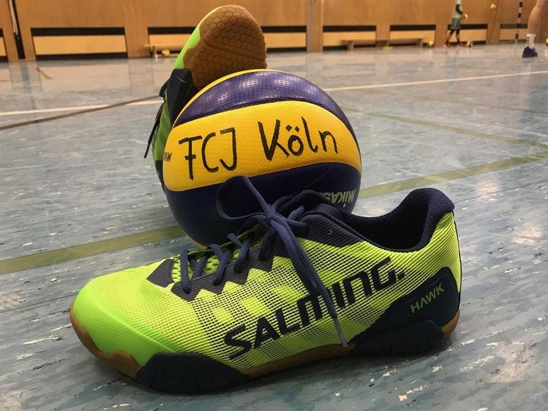 """Im Test: Der Salming """"Hawk"""" als Volleyballschuh"""
