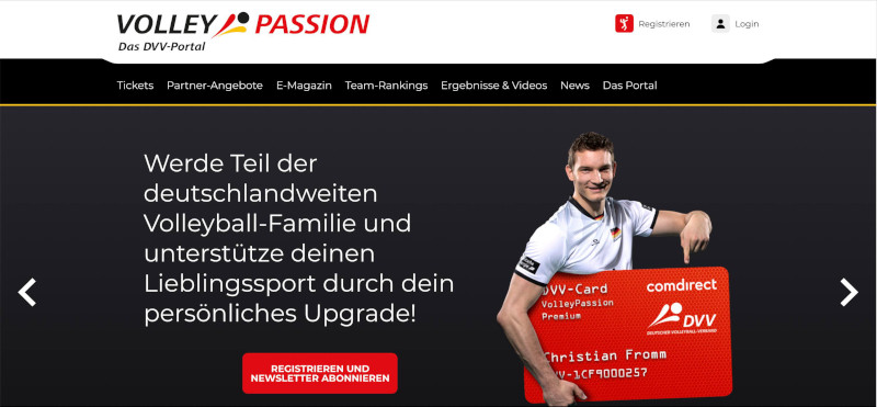 VolleyPassion: Das große VolleyballFREAK-Interview mit DVV-Presse- Referent Lars Gäbler