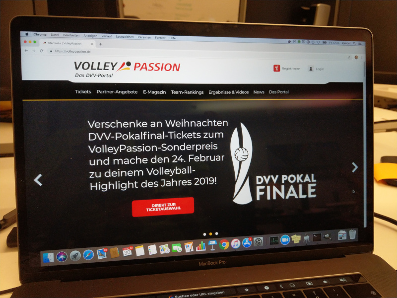 VolleyballFREAK-Rezension zu VolleyPassion