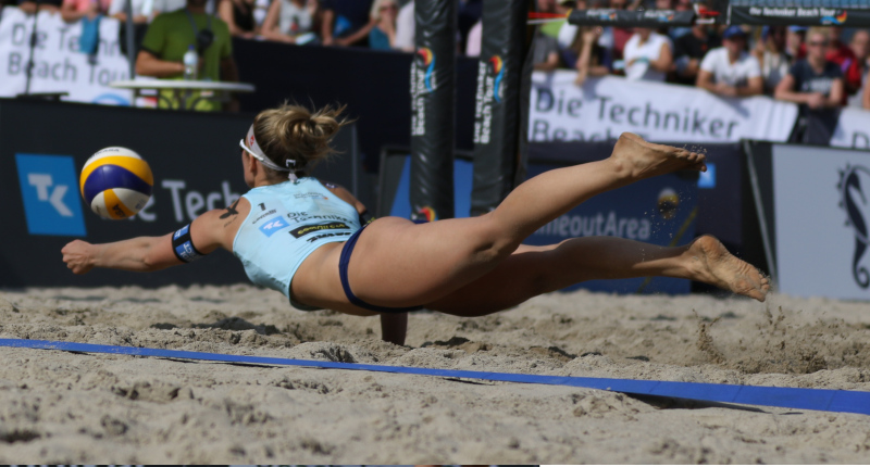 Beachvolleyball Techniken