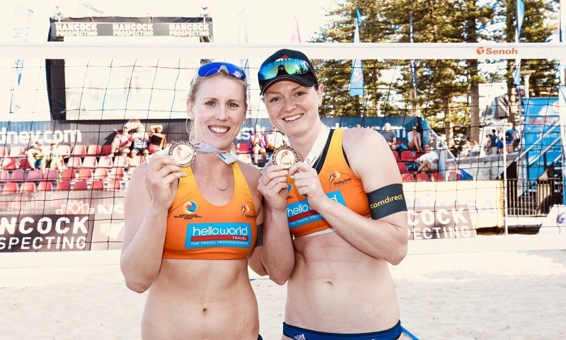 VolleyballFREAK-Interview mit Beachvolleyball Nationalteam Julia Sude & Karla Borger