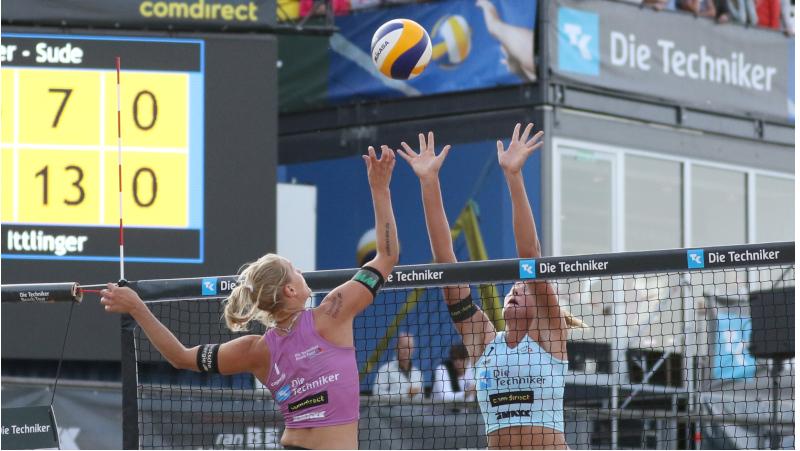 Der Poke-Shot im Beach Volleyball