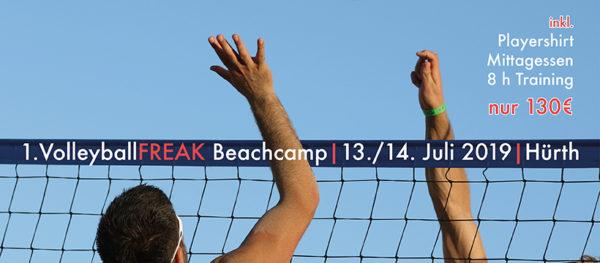 1. VolleyballFREAK - Beachvolleyballcamp