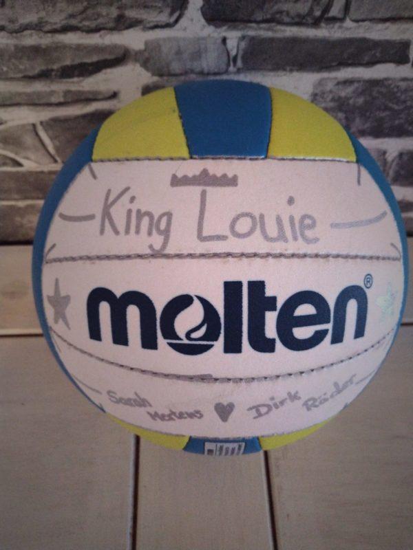 Der Molten Beachvolleyball mit dem Namen King Louie