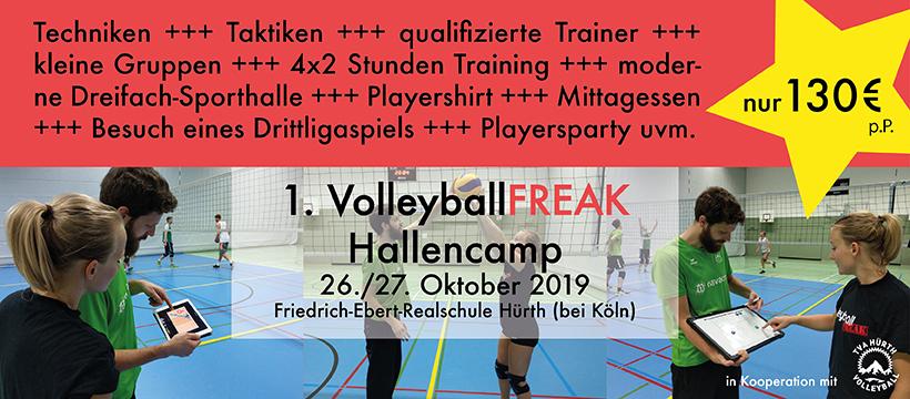 huge discount save up to 80% professional sale 1. VolleyballFREAK Hallencamp am 26-27.10 in Hürth bei Köln ...