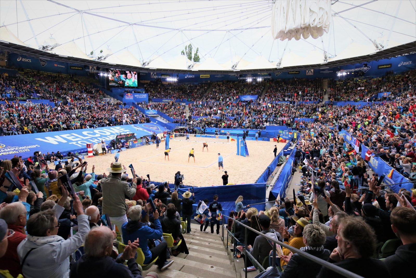 Fazit: Beachvolleyball-WM 2019: Hamburg sorgt (wieder einmal) für Gänsehaut
