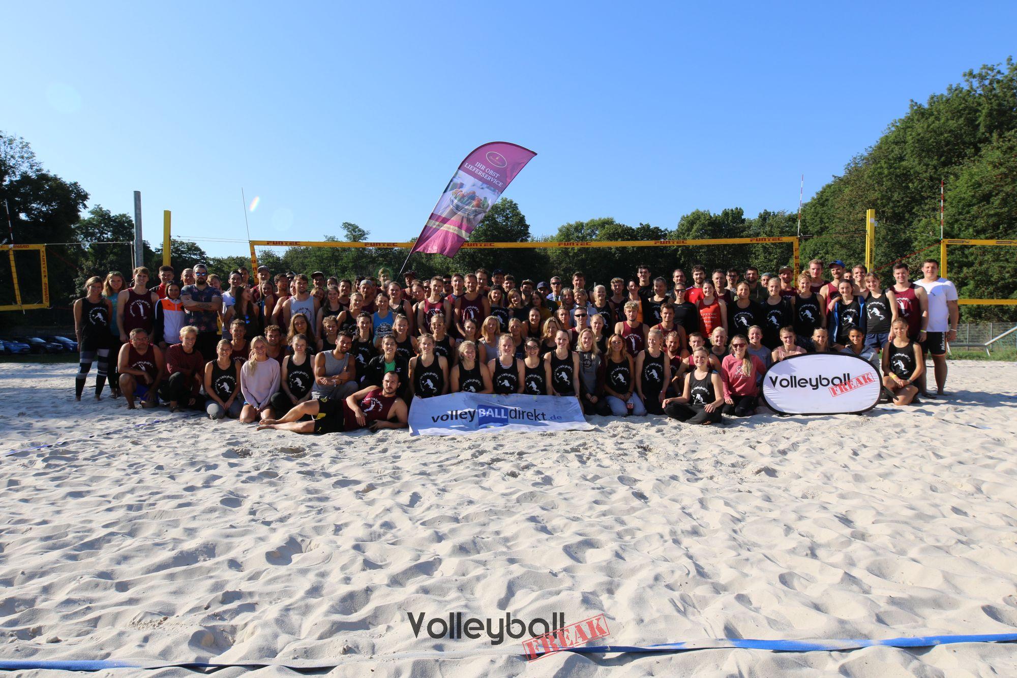 Impressionen vom Beachen mit dem Volleyballfreak 2019