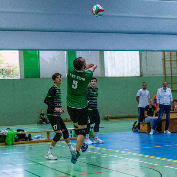 Die Asics Sky Elite FF im Einsatz beim Verbandsligaspiel von Volleyballfreak Steffen.
