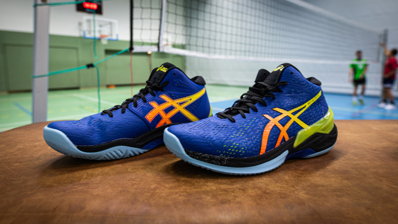 Asics Sky Elite FF Volleyballschuhe Herren 2019 in blau