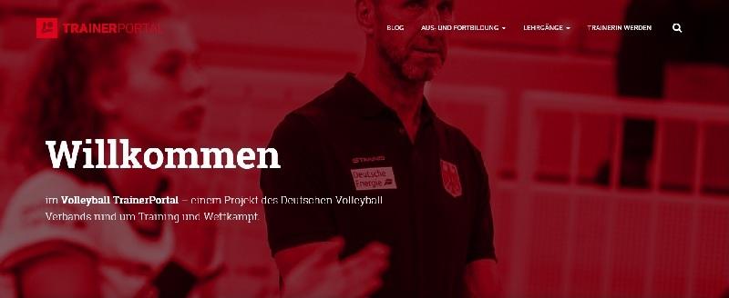 VolleyballFREAK stellt vor… Das neue DVV-TrainerPortal