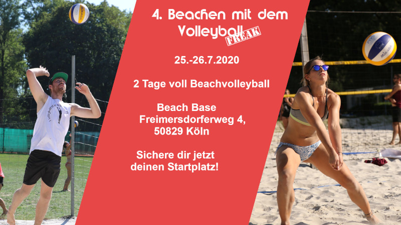 Beachen mit dem VolleyballFREAK 2020