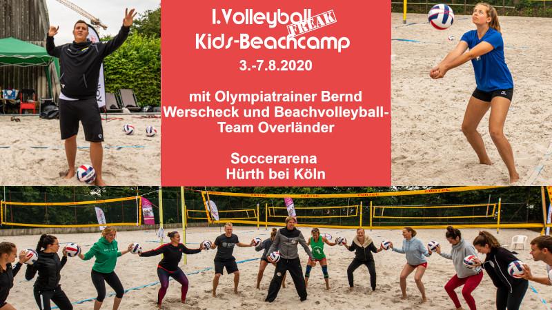 1. VolleyballFREAK Kids-Beachcamp
