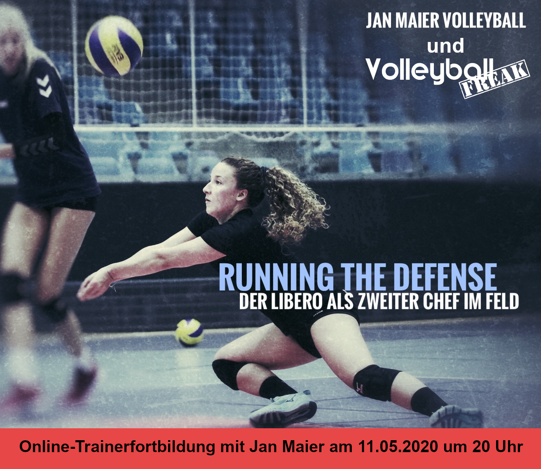 """Online-Trainerfortbildung: """"Running the defense – Der Libero als zweiter Chef im Feld"""""""
