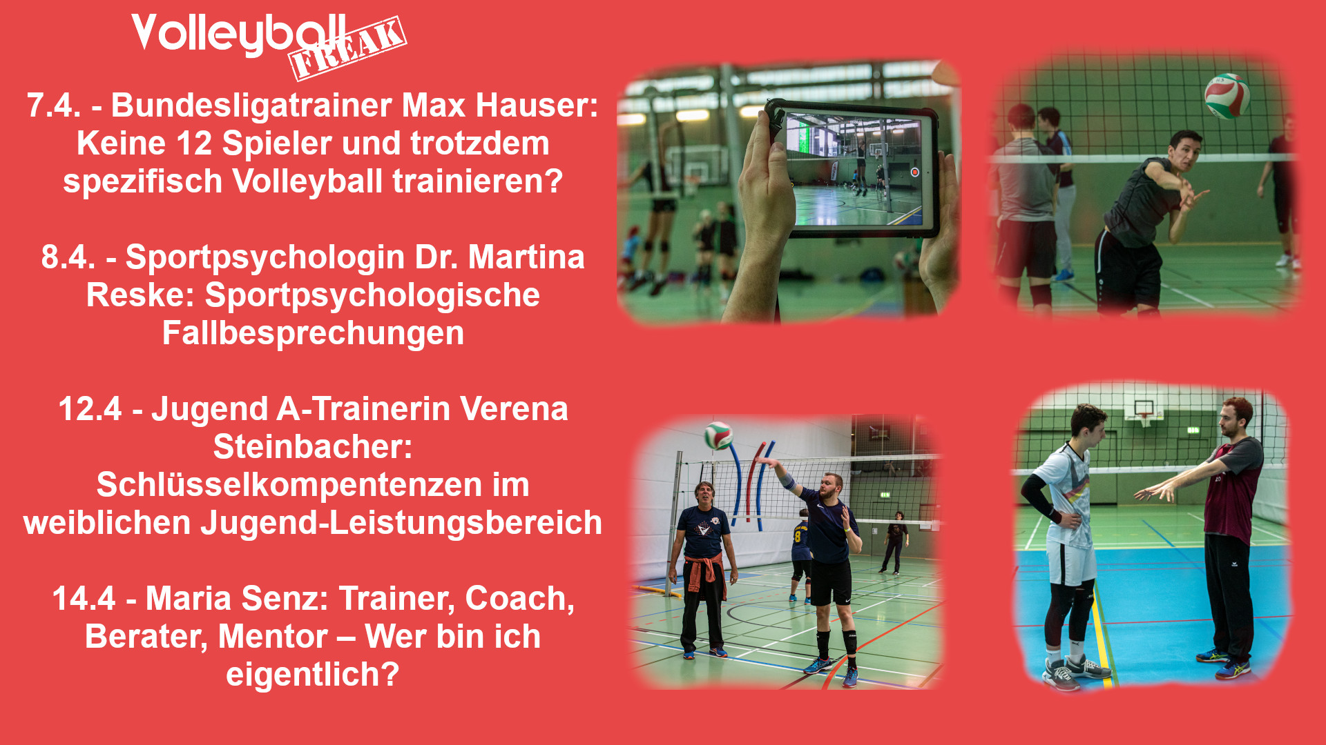 VolleyballFREAK Online Trainerfortbildungen