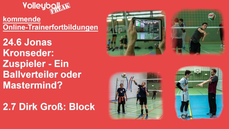 VolleyballFREAK Online Trainerfortbildungen