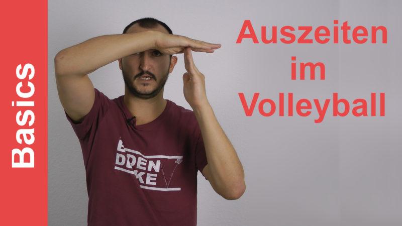 Auszeiten im Volleyball