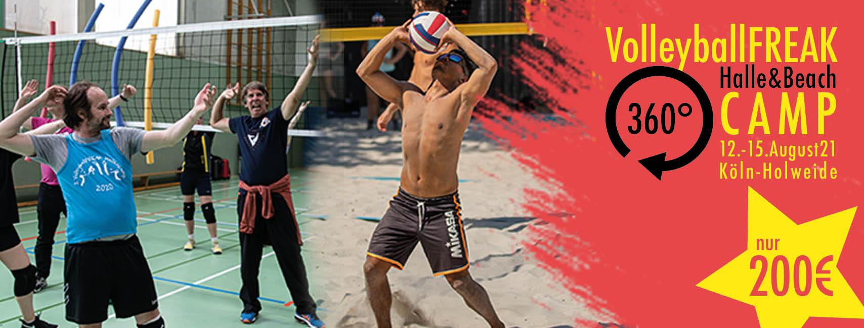 VolleyballFREAK 360° Camp