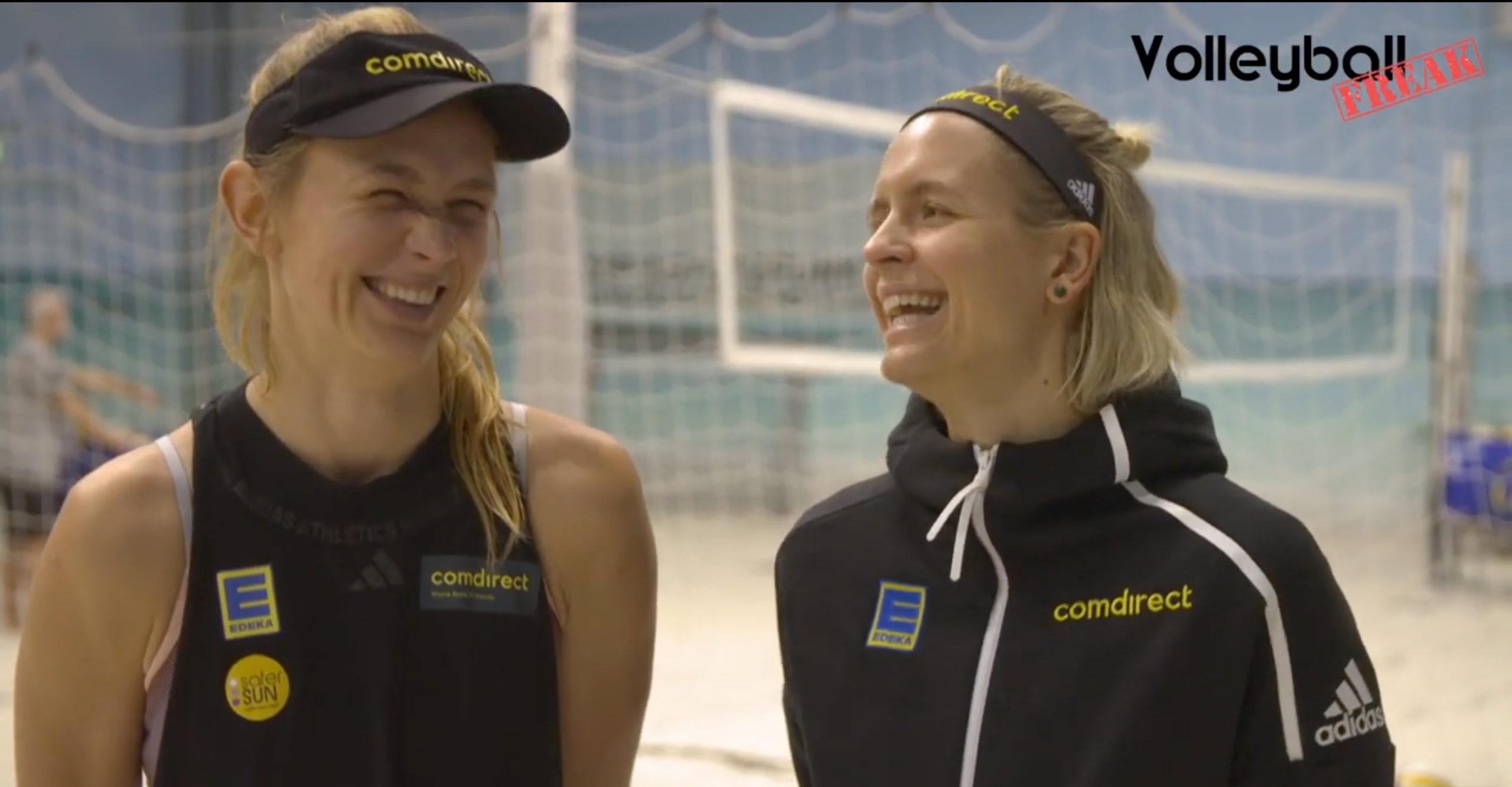Zwei Tickets für Tokio – Das deutsche Beachvolleyball-Duo Laura Ludwig und Maggie Kozuch  nimmt Anlauf auf Olympia