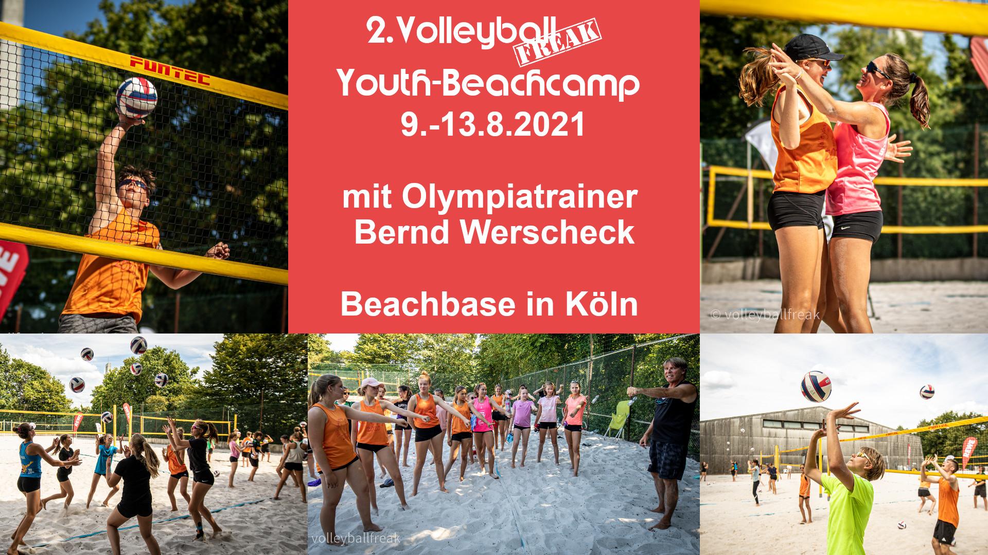 2. Volleyballfreak Youth-Beachcamp
