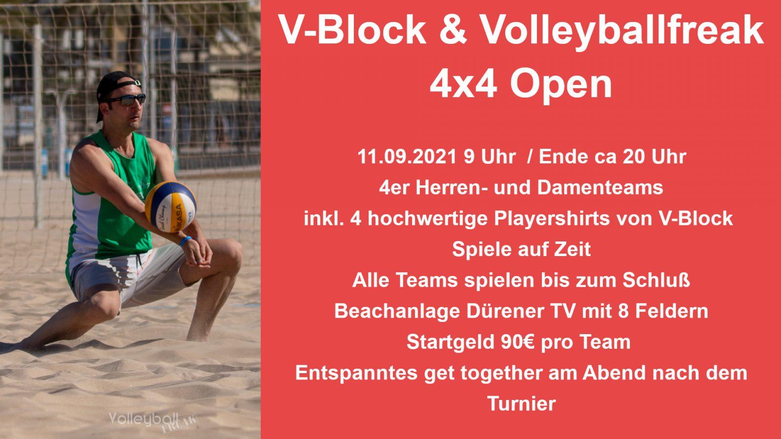 V-Block & Volleyballfreak 4×4 Open