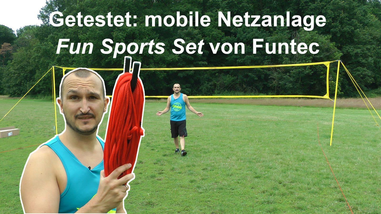 """Getestet: Mobile Netzanlage """"Fun Sport Set"""" von Funtec"""