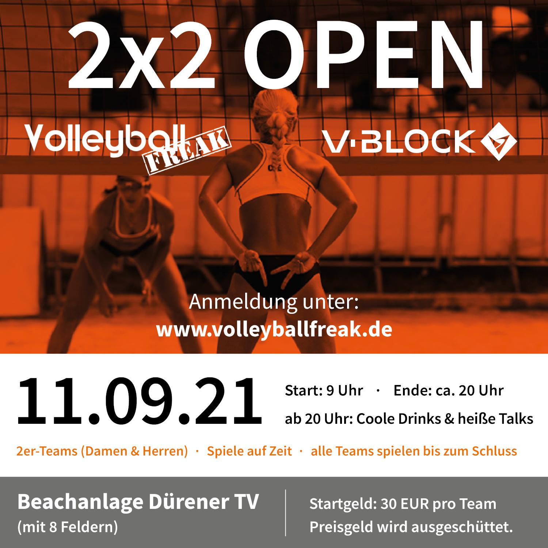 V-Block & Volleyballfreak 2×2 Open